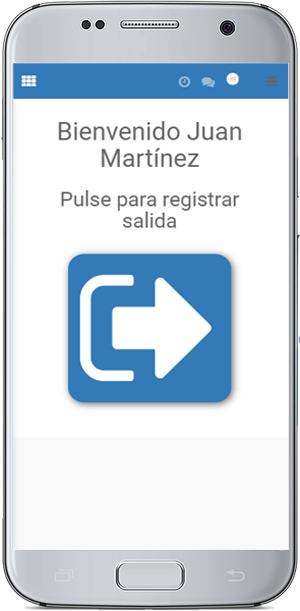 app registro de horario
